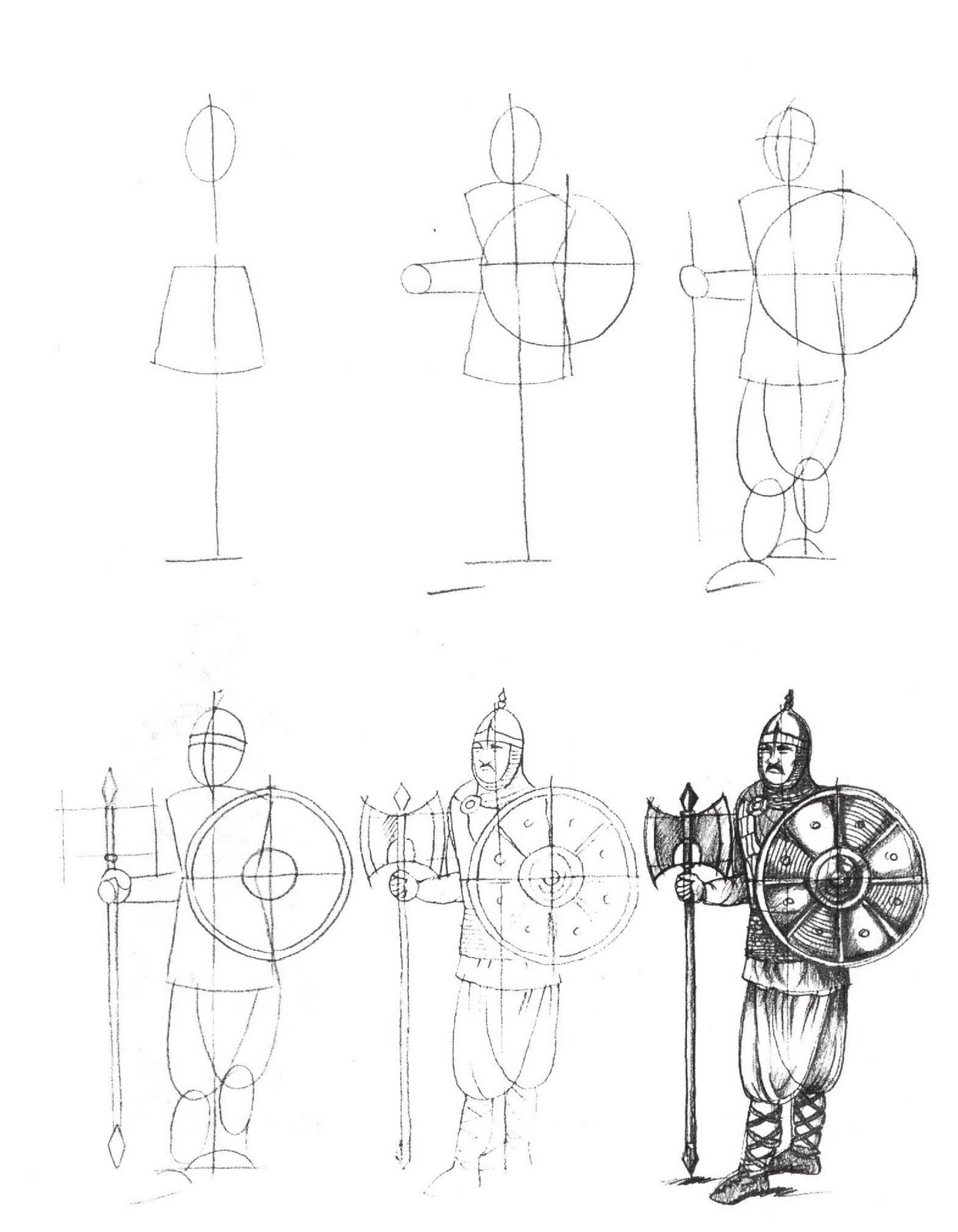 Knight in armor drawing at getdrawings free for personal use
