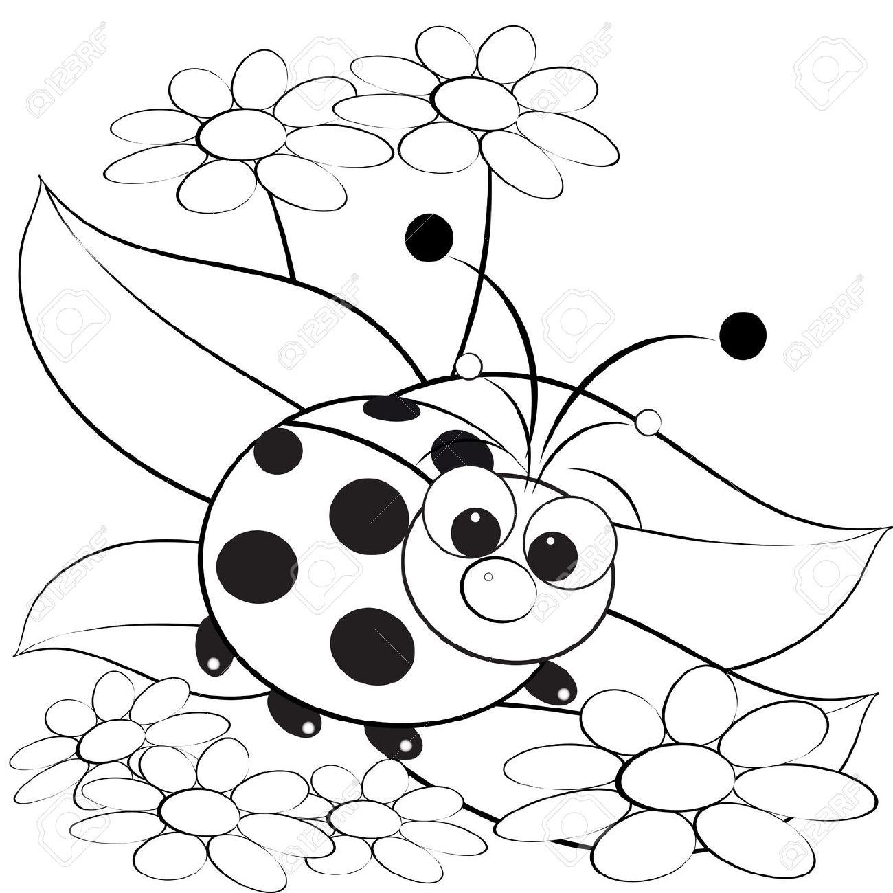 Ladybug Drawing For Kids At Getdrawings