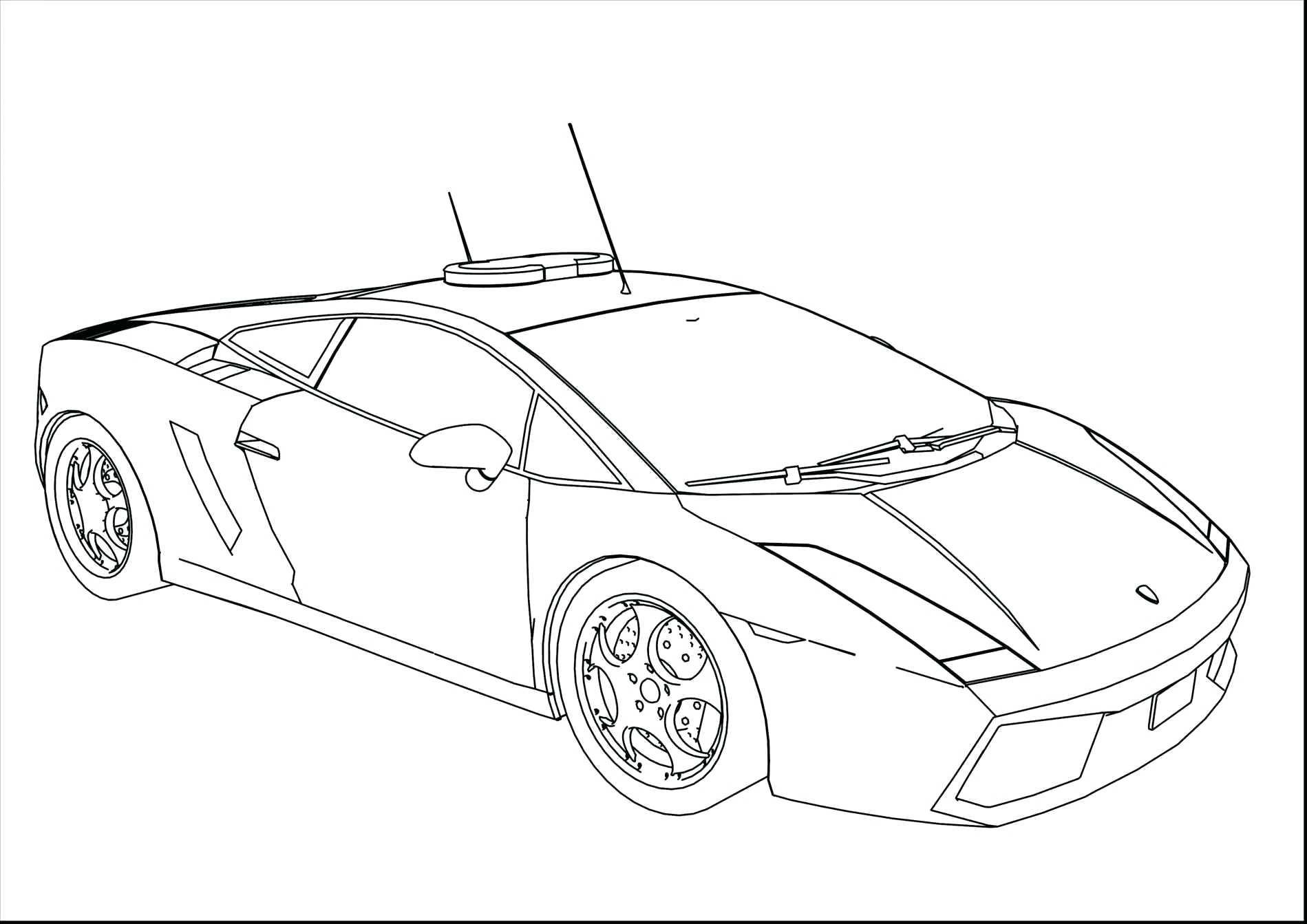 Lamborghini Car Drawing At Getdrawings