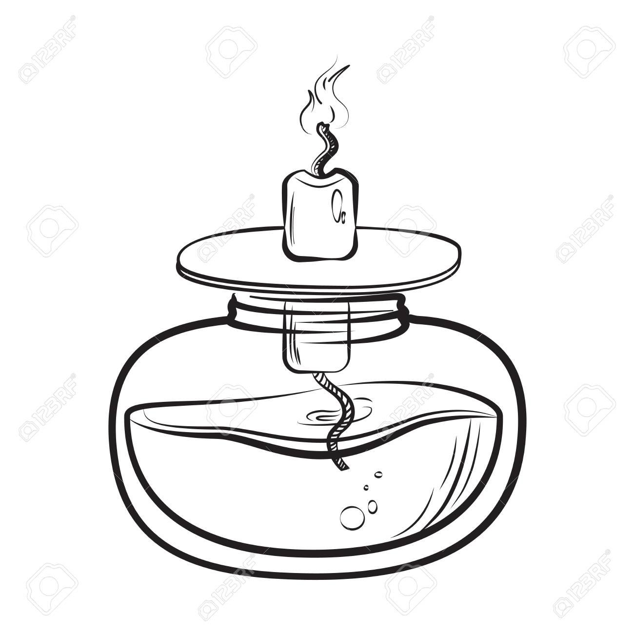 Lamp Drawing At Getdrawings