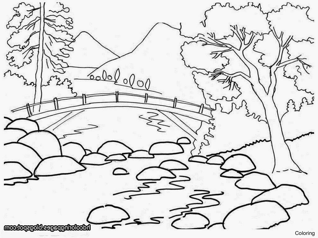 Landscape Pen Drawing At Getdrawings