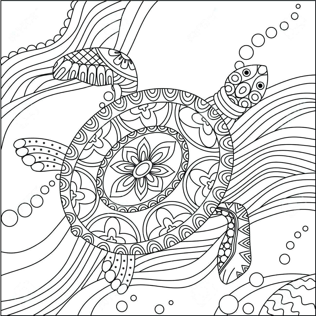 Leatherback Sea Turtle Drawing At Getdrawings