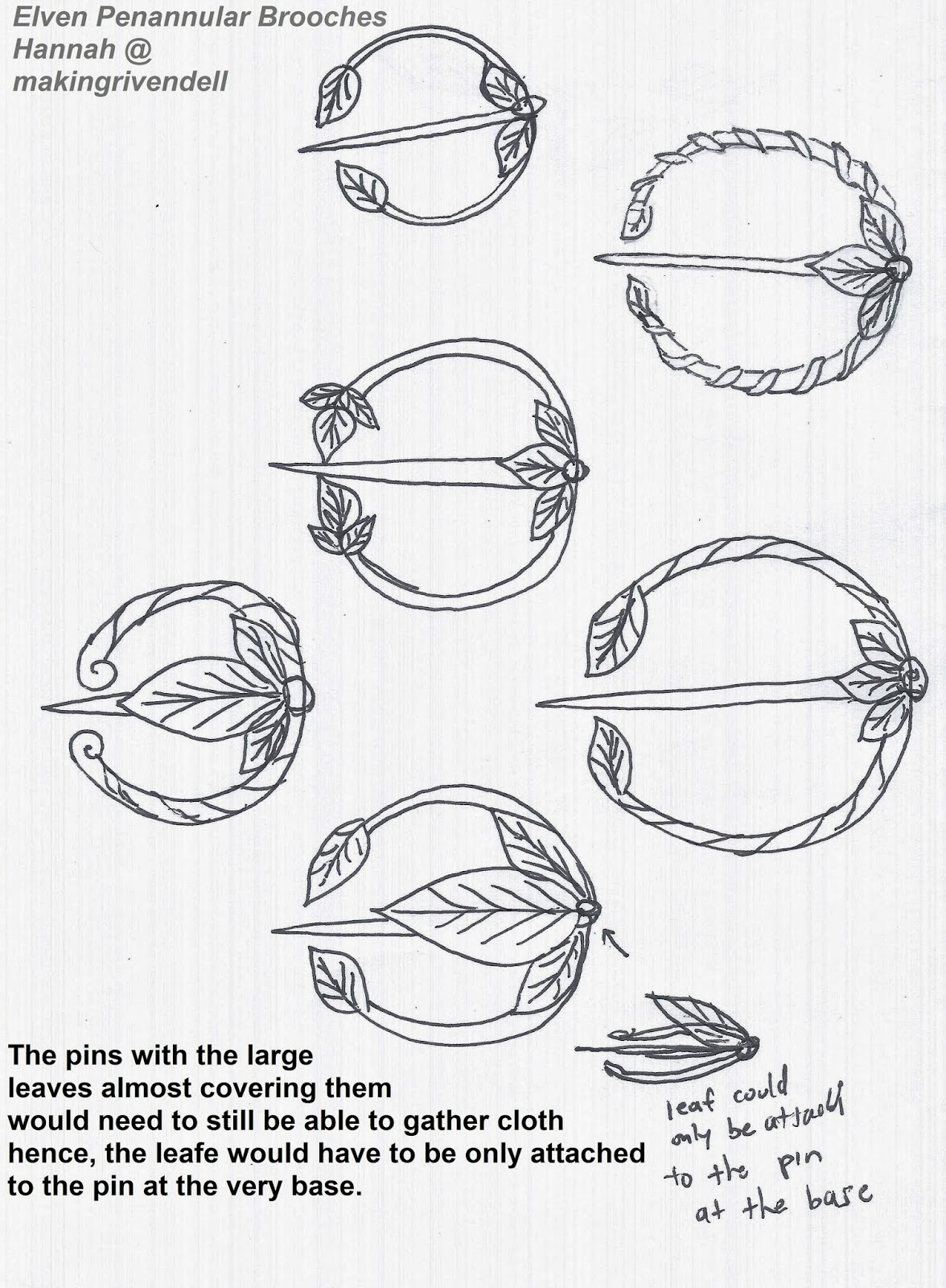1176x1600 making rivendell in the desert elven penannular brooches designs