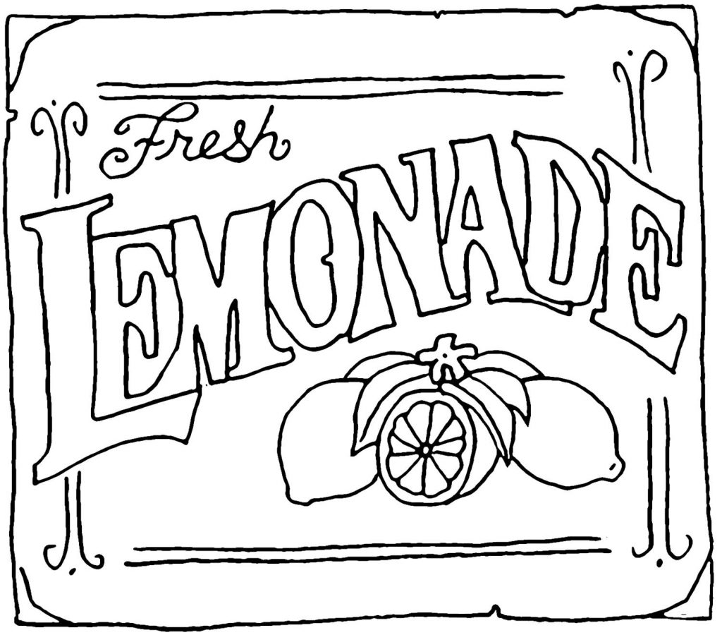 Lemonade Drawing At Getdrawings