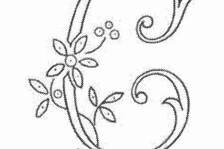 Free Resume 2018 Hand Embroidery Letters Patterns Free Free Resume