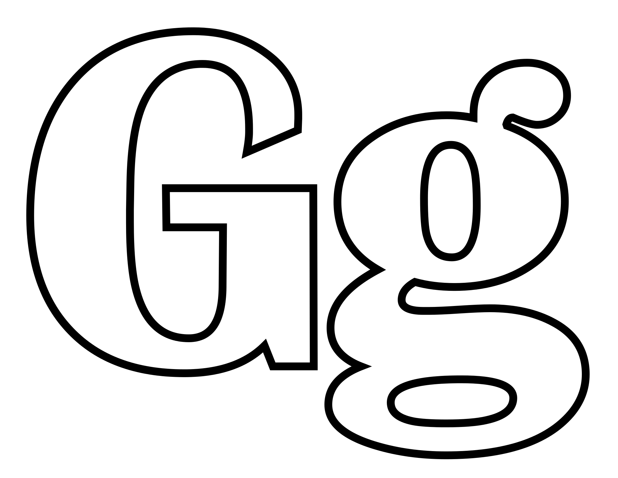Letter G Drawing At Getdrawings