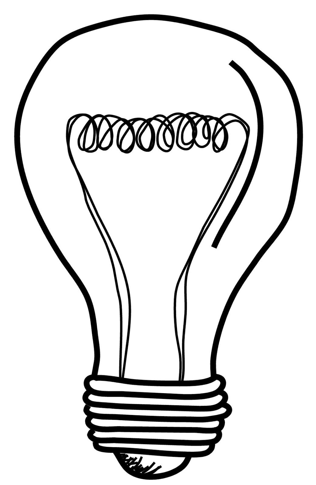 Light Bulb Pencil Drawing At Getdrawings