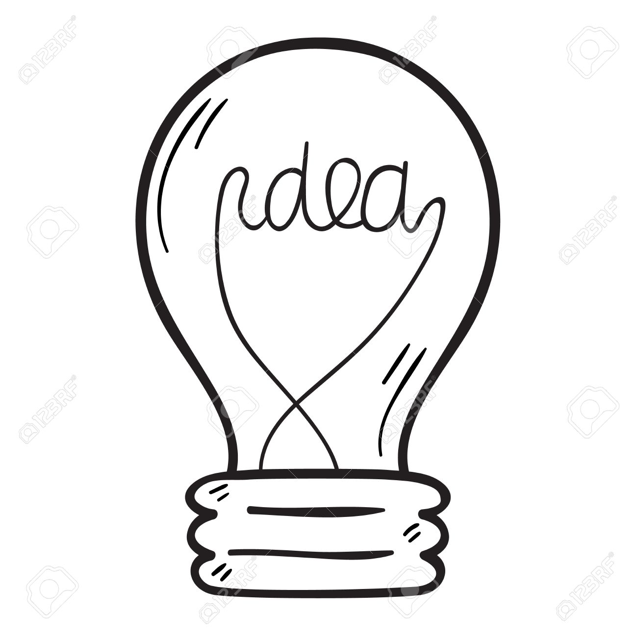 Light Bulbs Drawing At Getdrawings