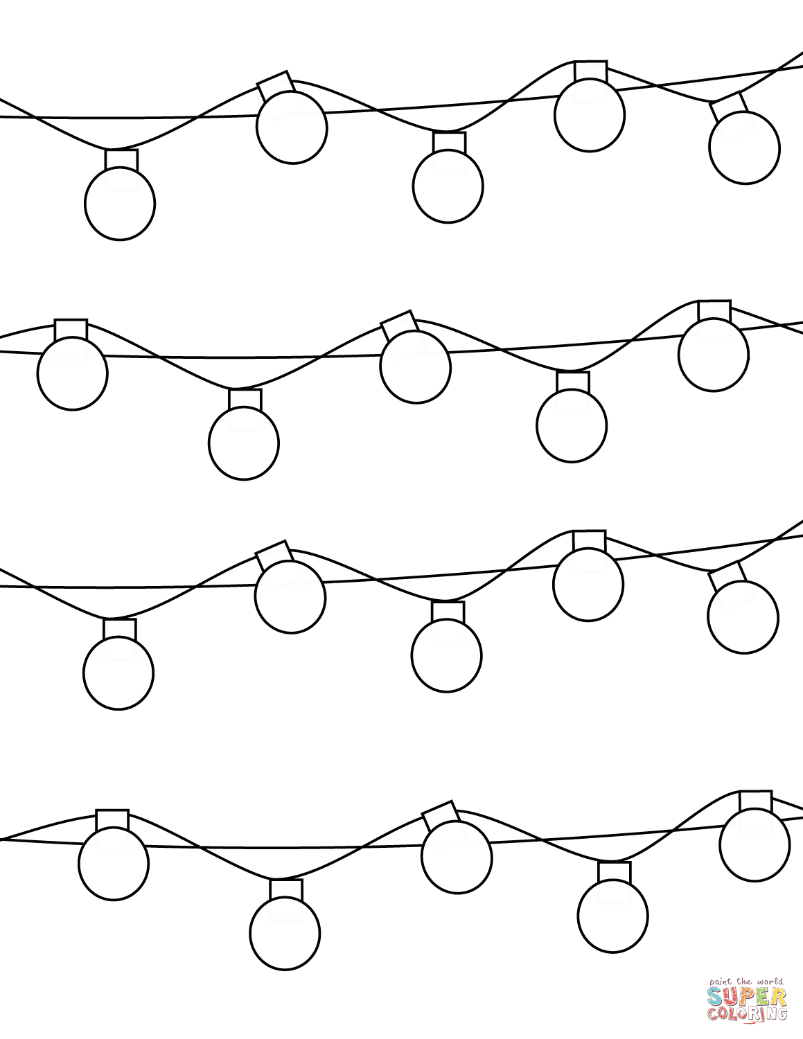1159x1500 christmas lights coloring page free printable coloring pages