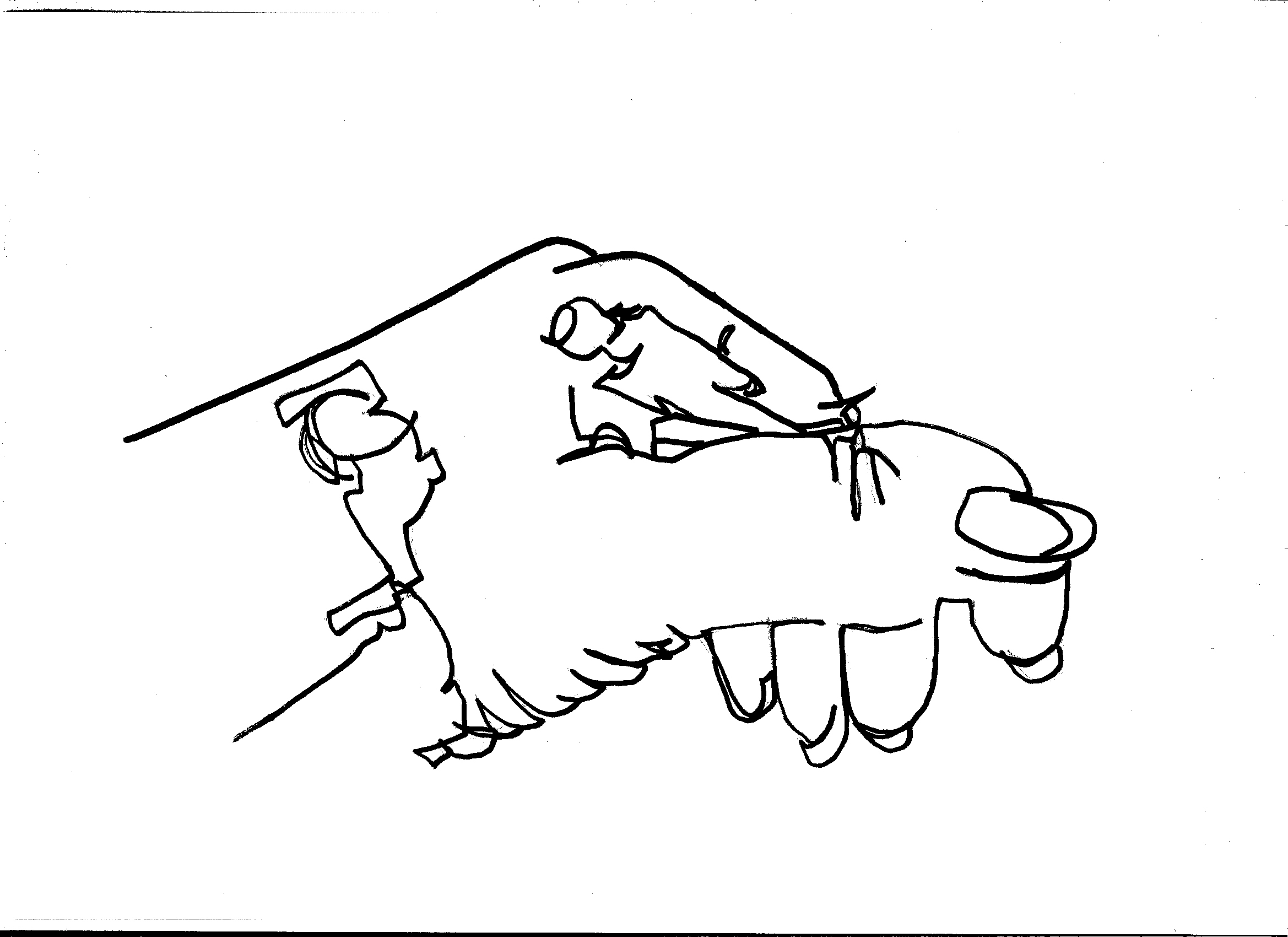 Line Drawing Of Hand At Getdrawings