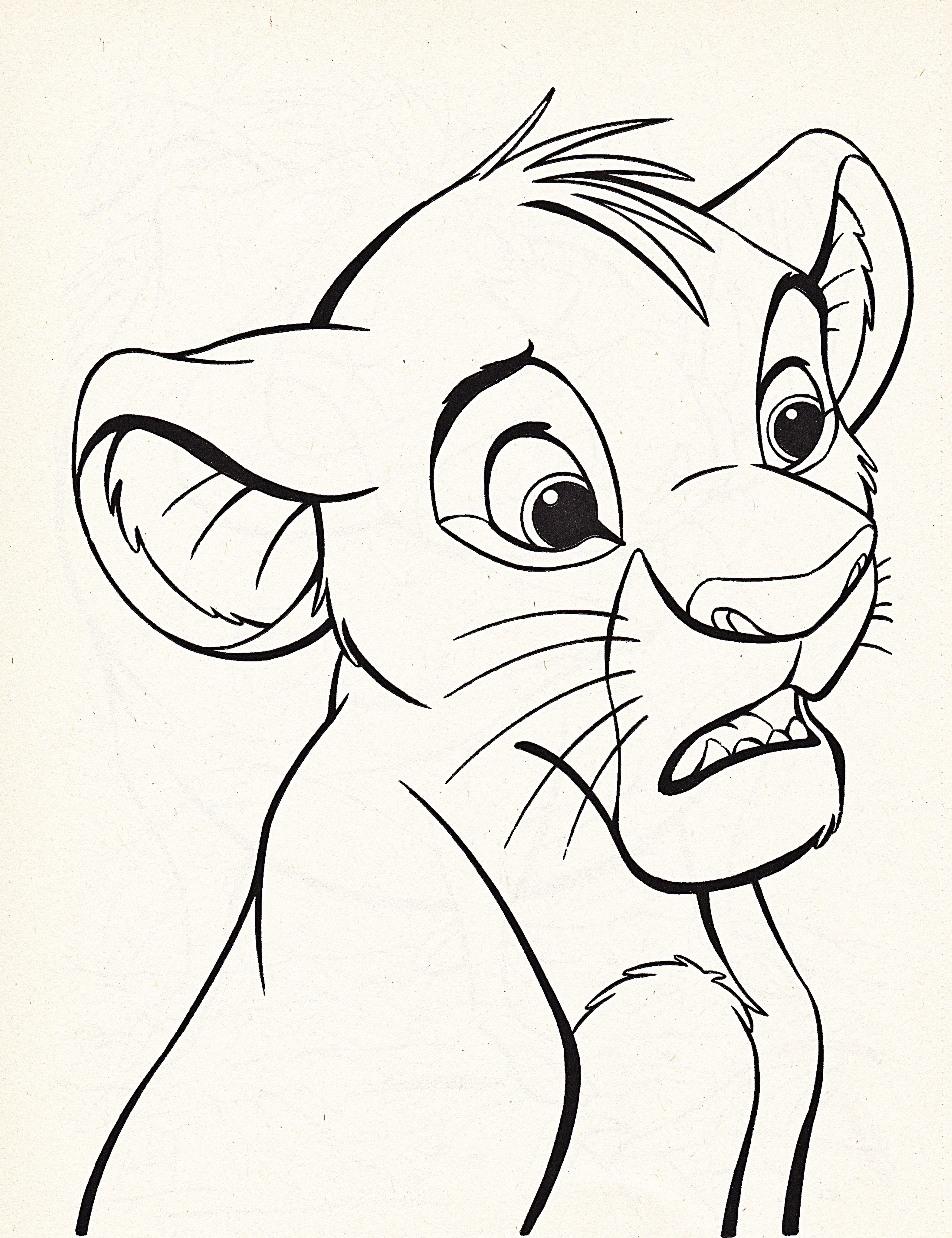 Lion King Characters Drawing At Getdrawings