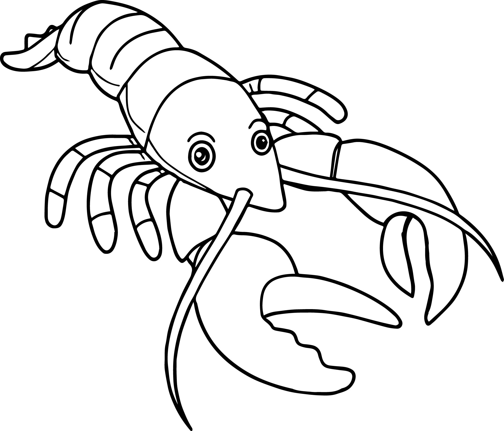 Lobster Silhouette Clip Art At Getdrawings Com