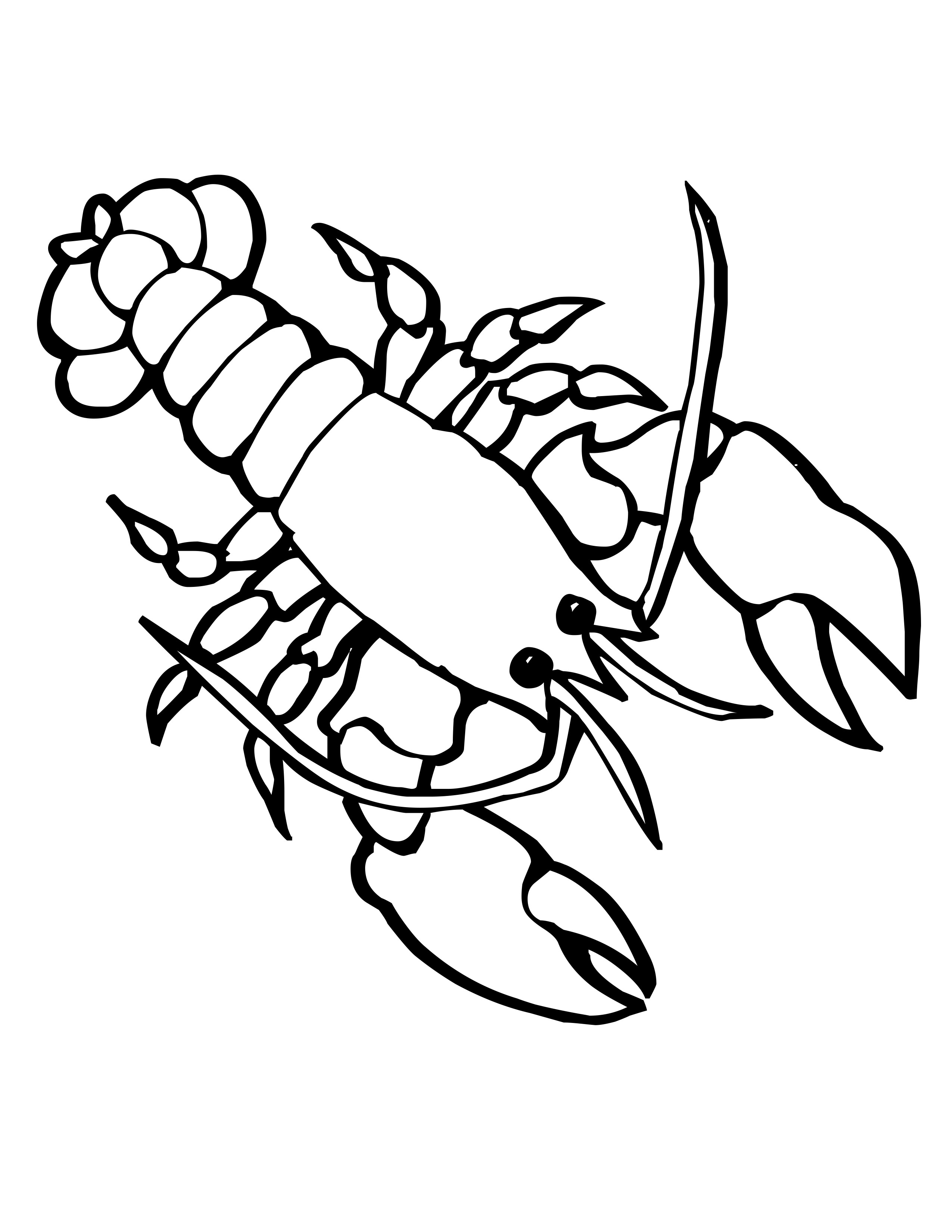 Simple Lobster Drawing At Getdrawings
