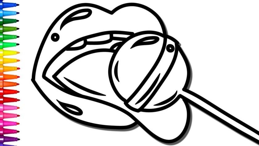 lollipop drawing at getdrawings  free download