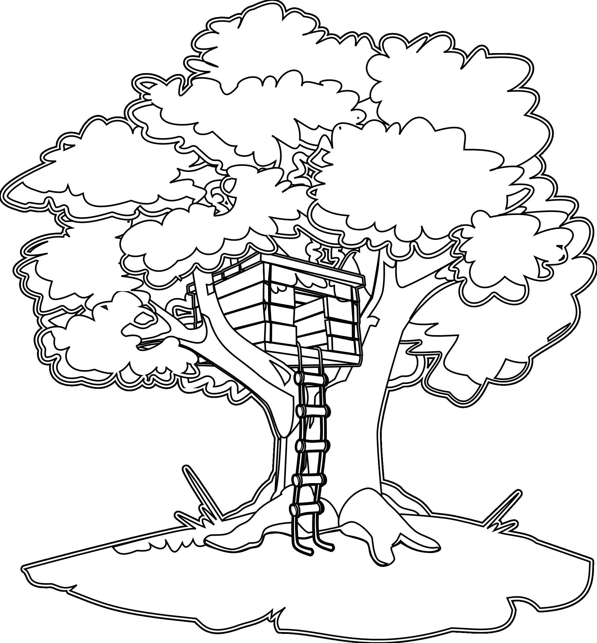 Magical Tree Drawing At Getdrawings