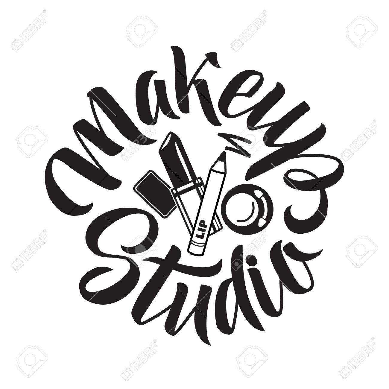 Makeup Brushes Drawing At Getdrawings