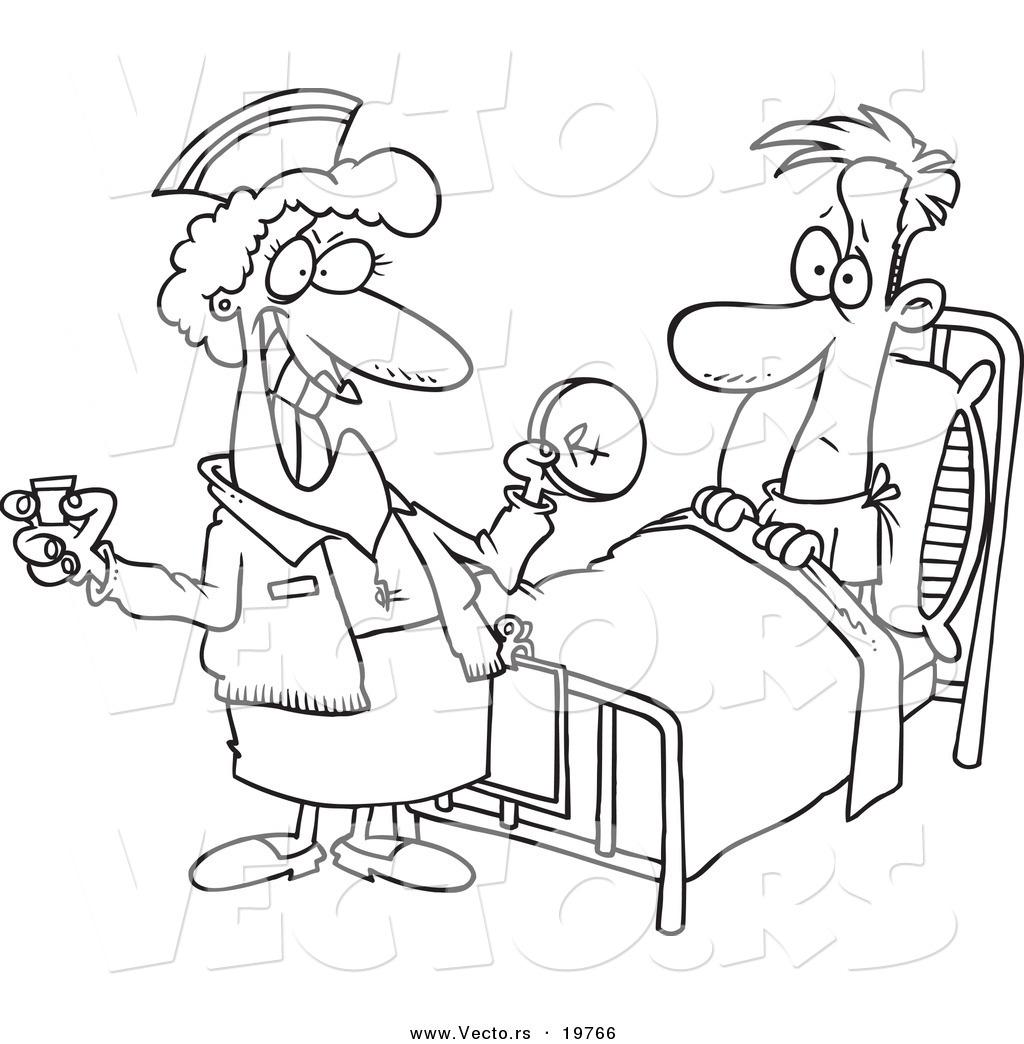 Male Nurse Drawing At Getdrawings