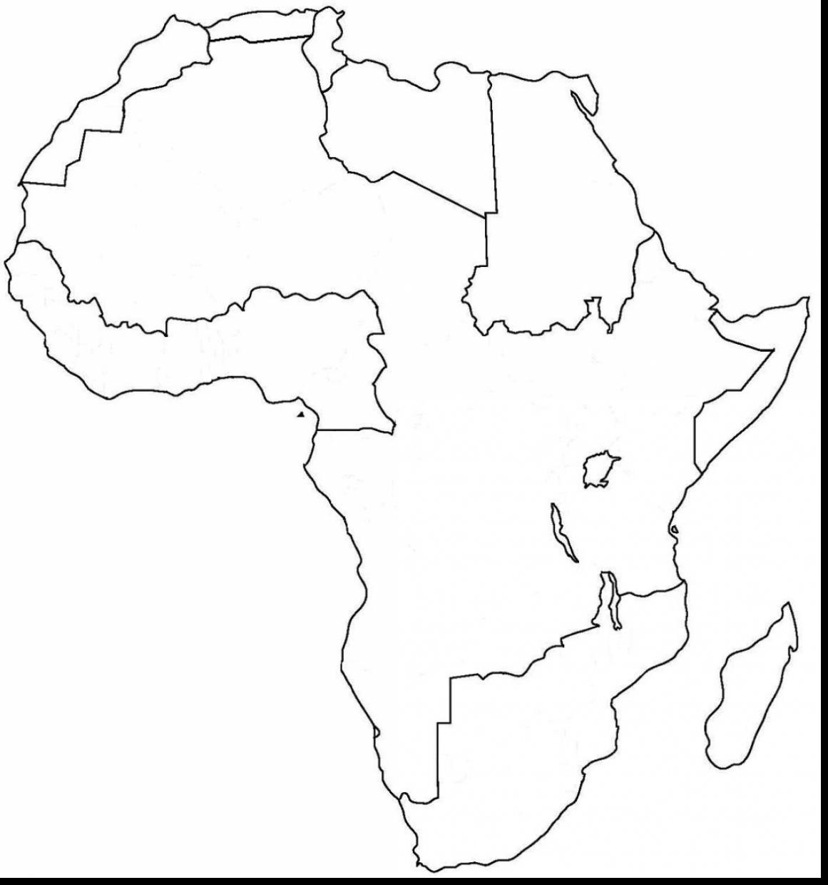 Map Of Africa Drawing At Getdrawings