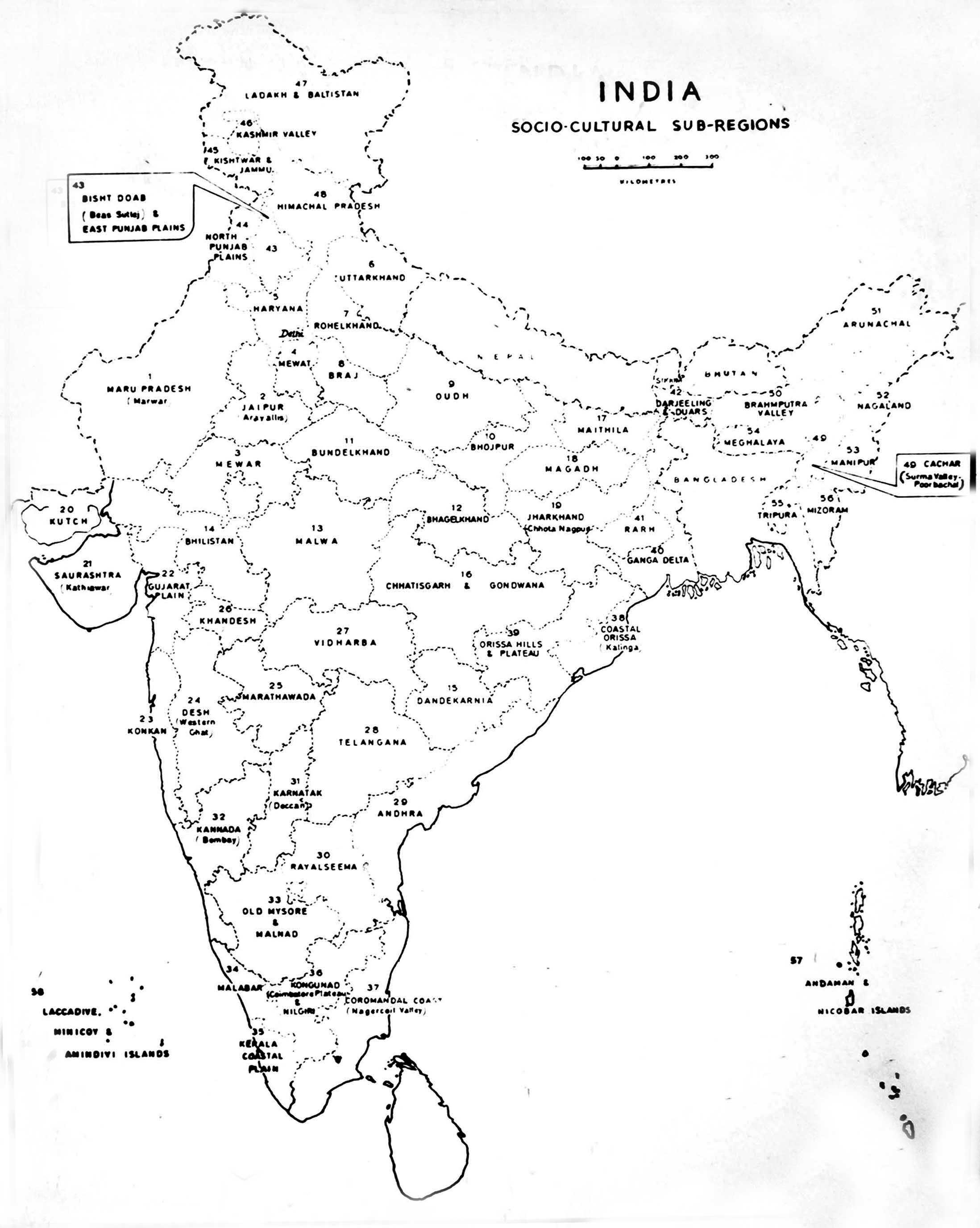 Map Of India Drawing At Getdrawings