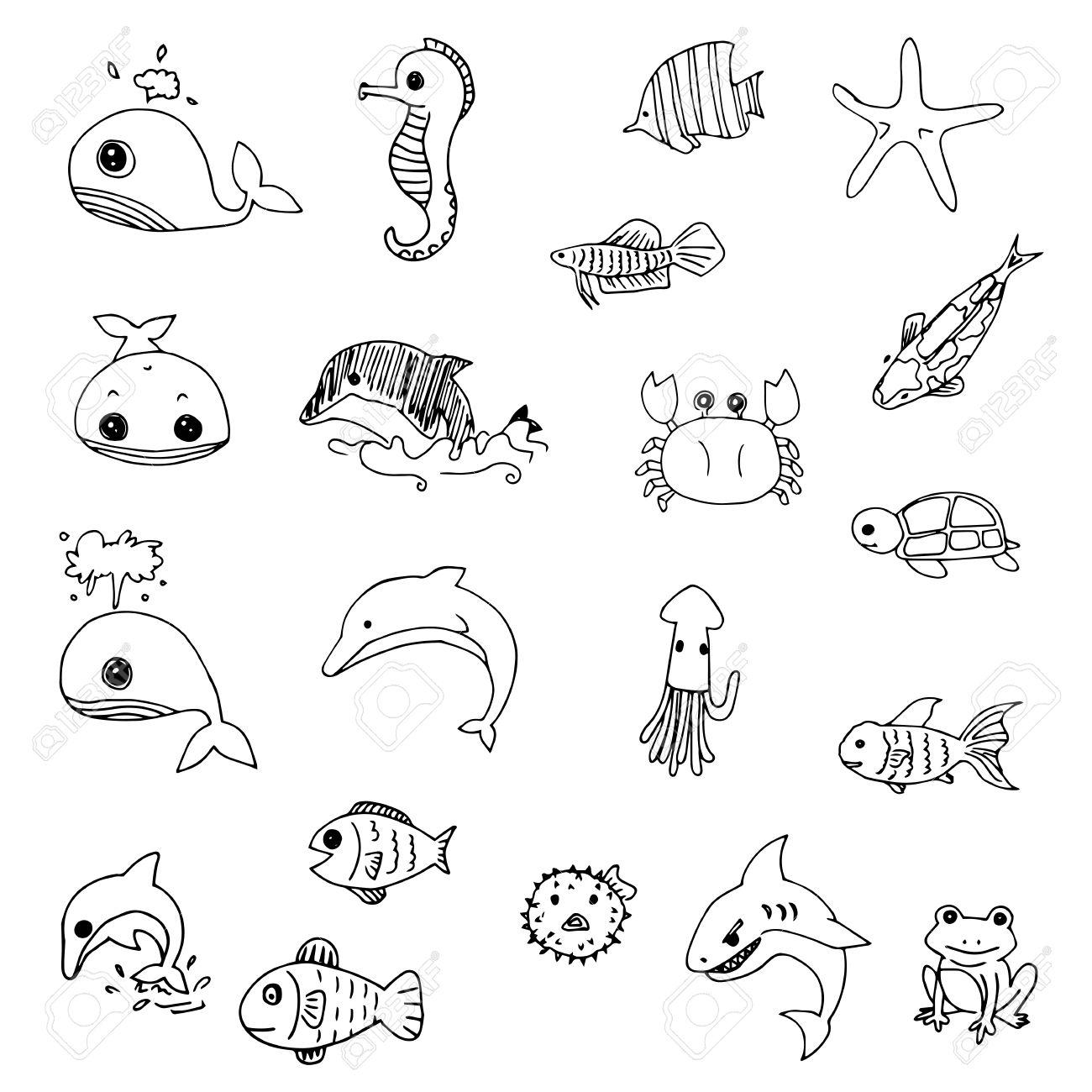 Printable Worksheets For Preschool Ocean Coral Printable