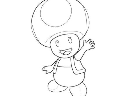 toad coloring pages # 23