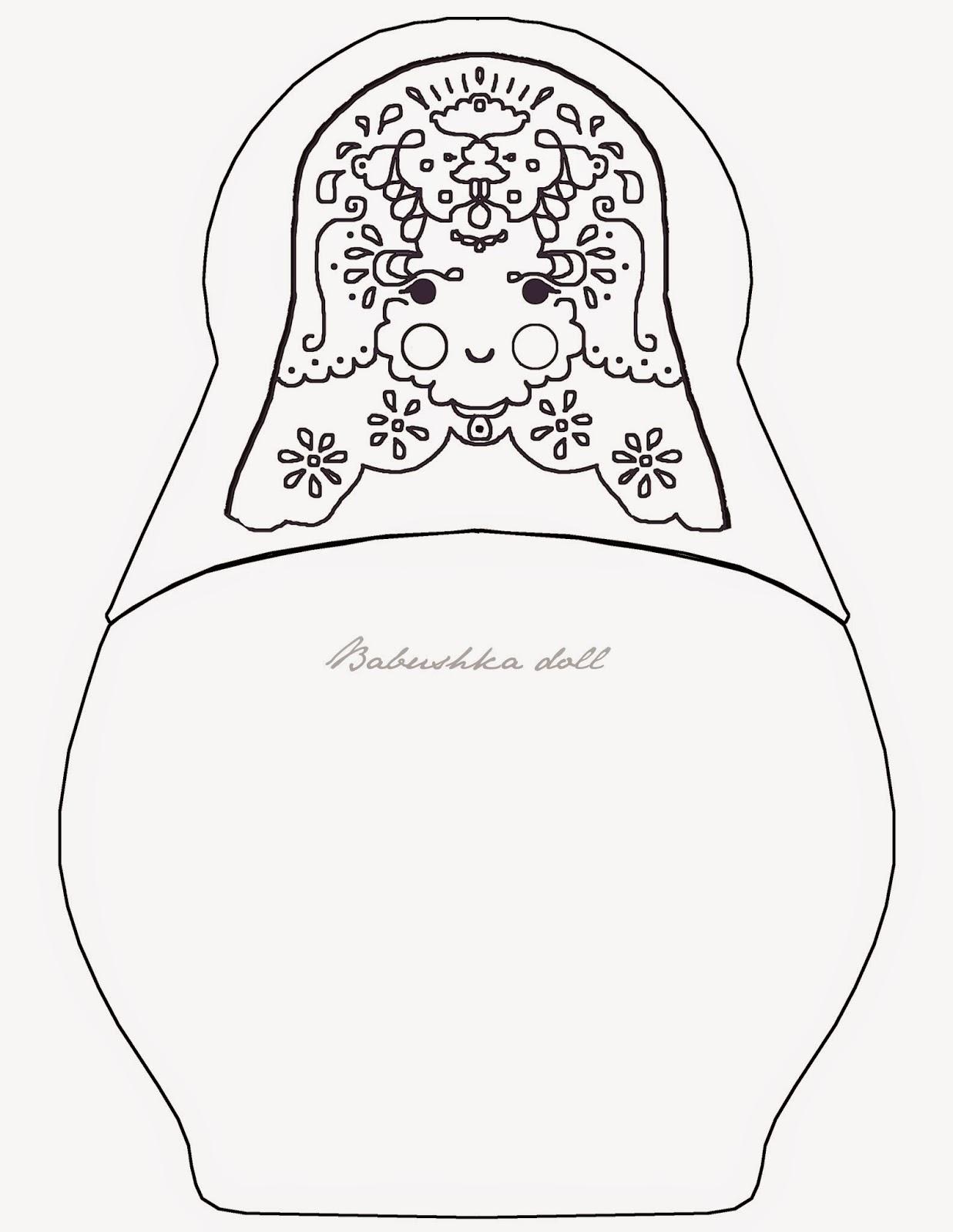 Matryoshka Doll Drawing At Getdrawings