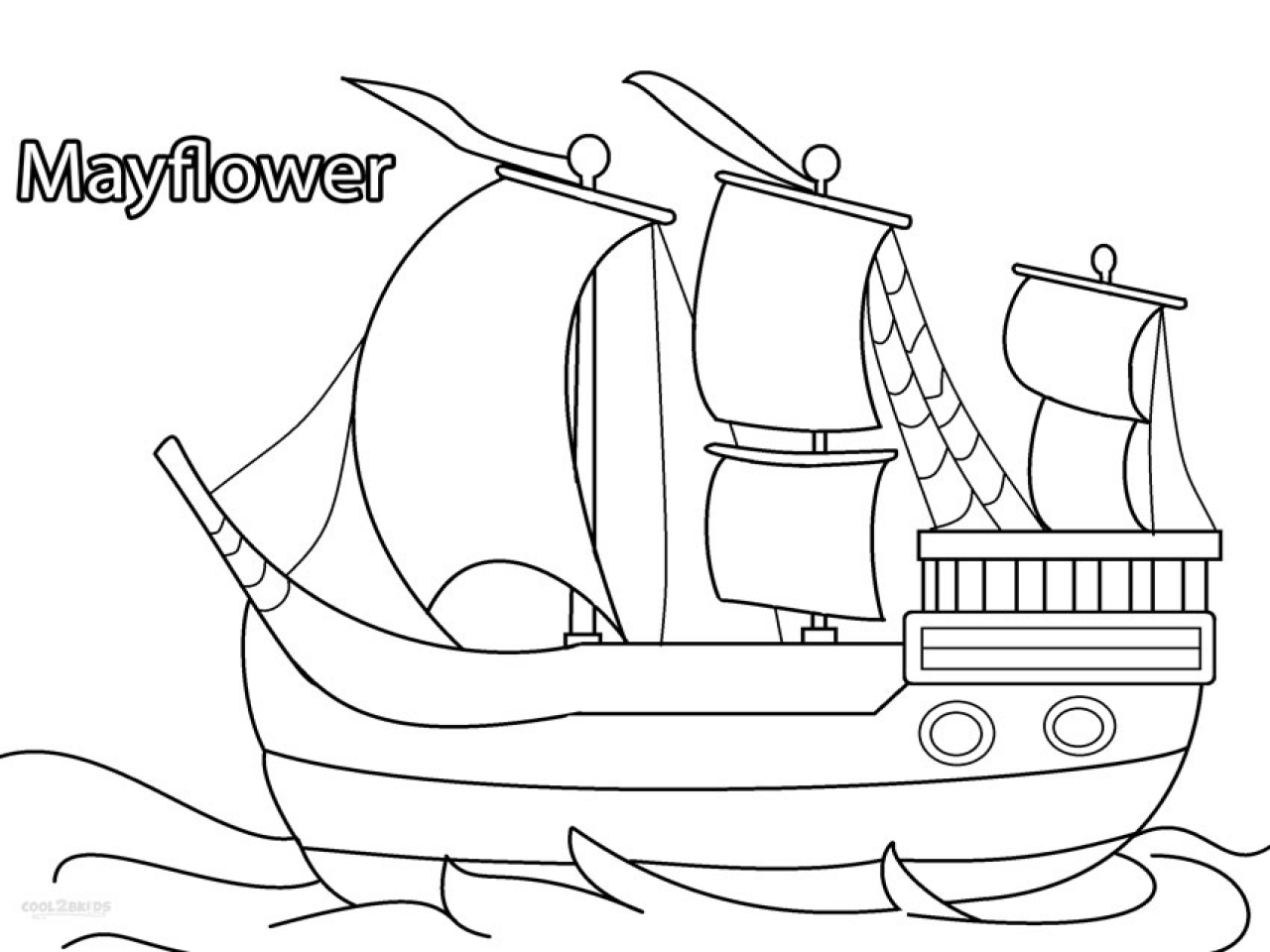The Best Free Mayflower Drawing Images Download From 144
