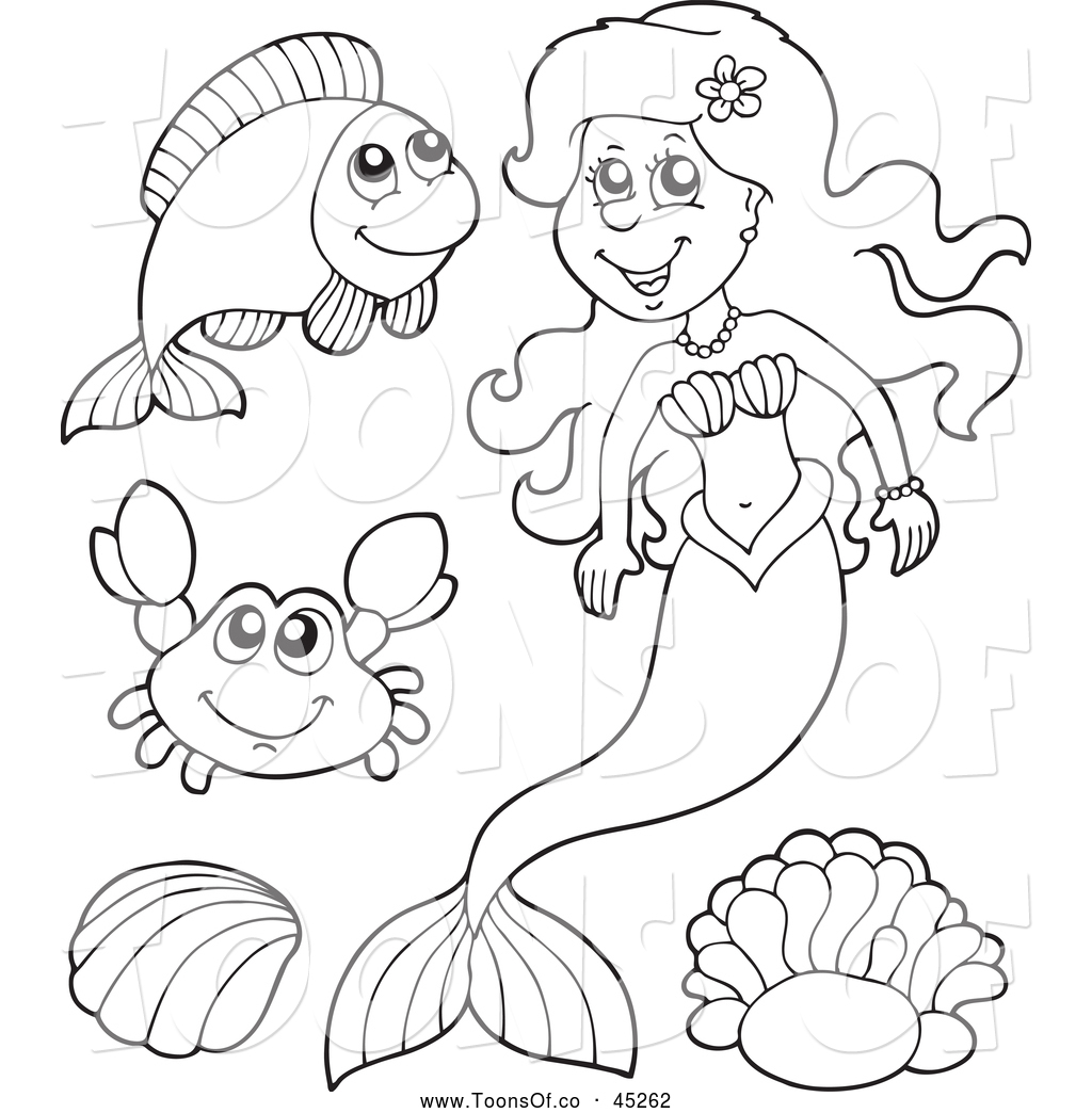 Mermaid Drawing Cliparts At Getdrawings