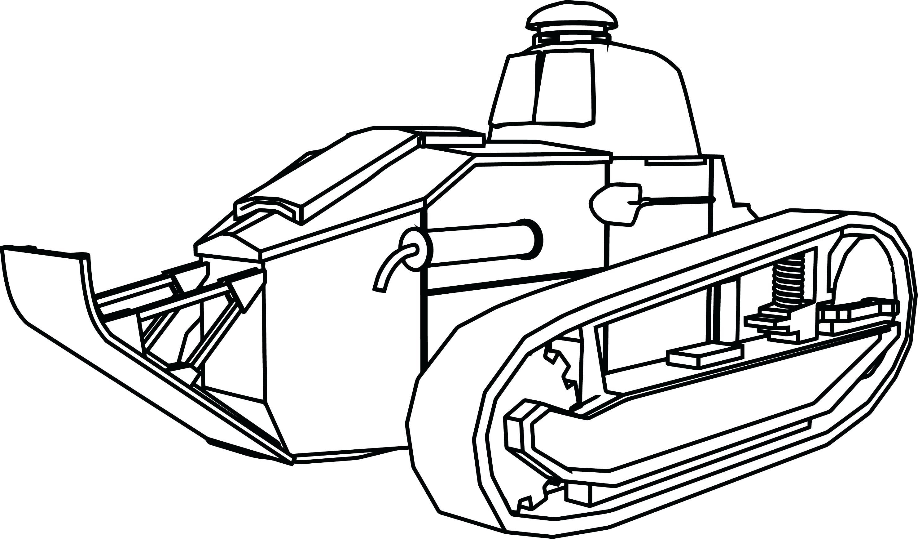 Sherman Tank Drawing At Getdrawings Com