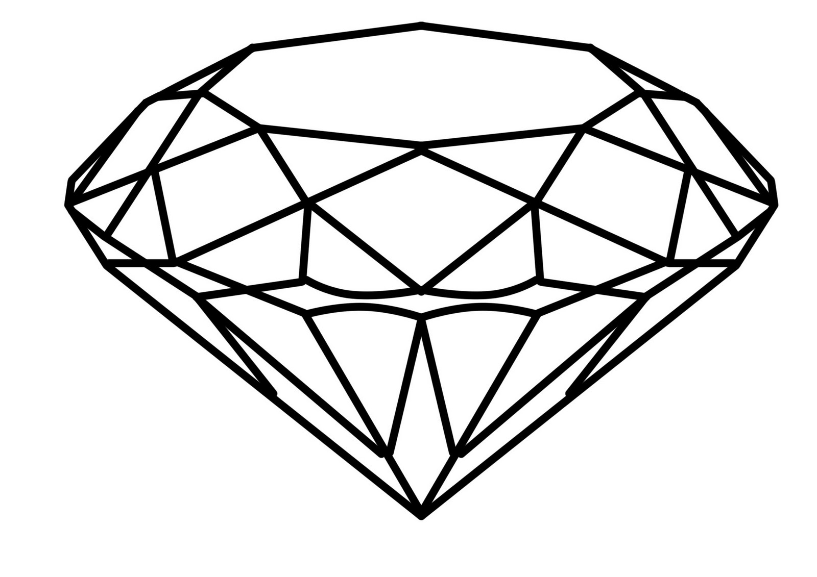 The Best Free Diamond Drawing Images Download From