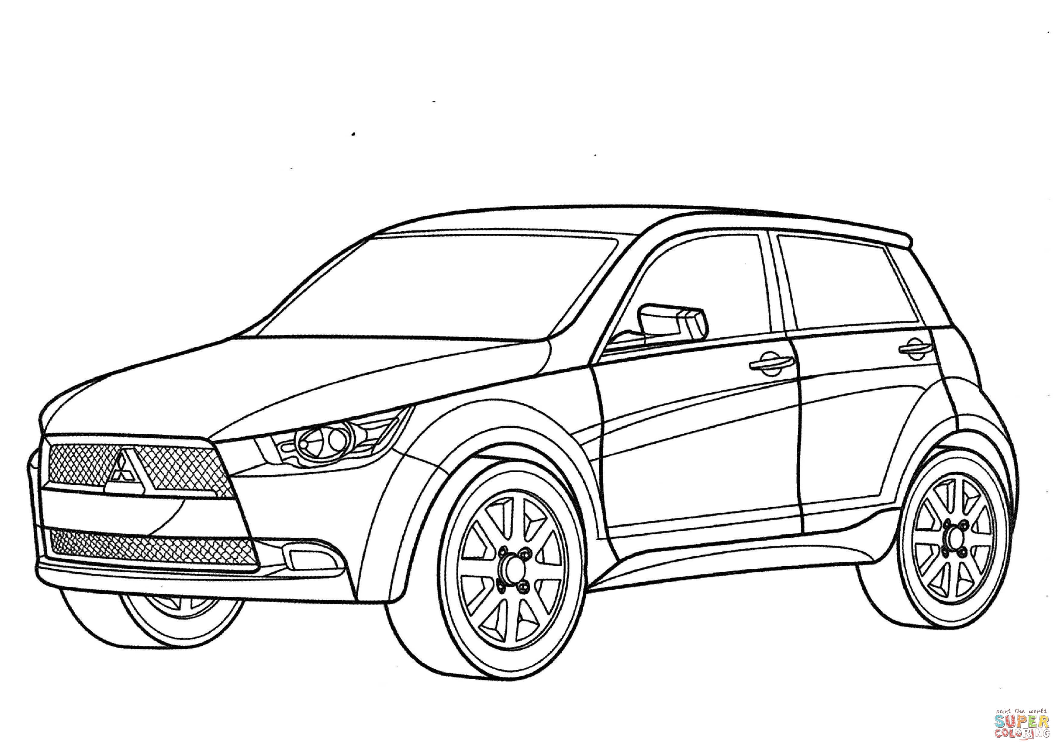 Mitsubishi Eclipse Drawing At Getdrawings