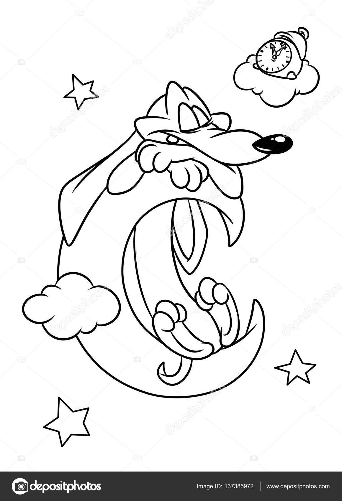Moon Cartoon Drawing At Getdrawings