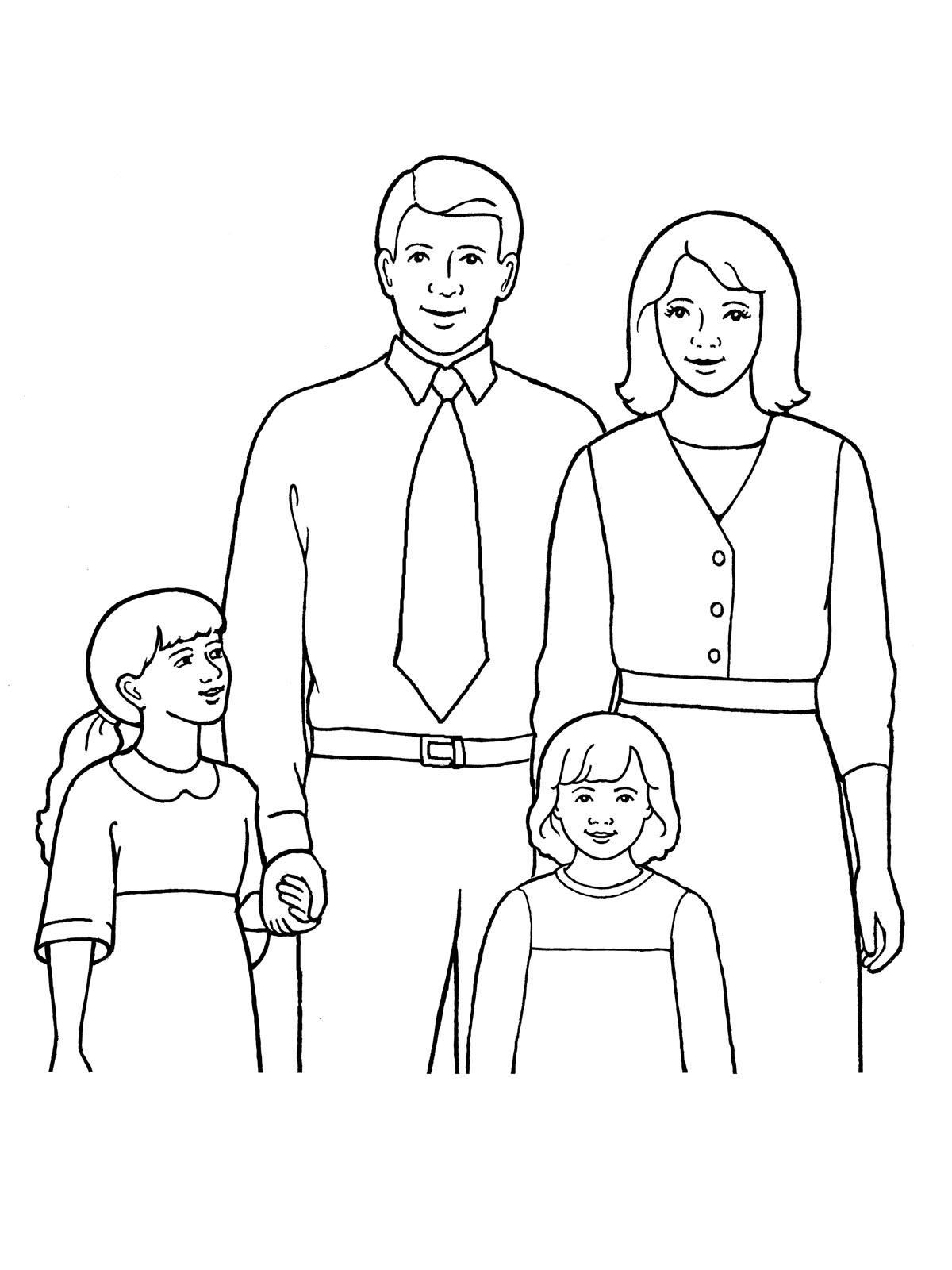 Mother And Father Drawing At Getdrawings