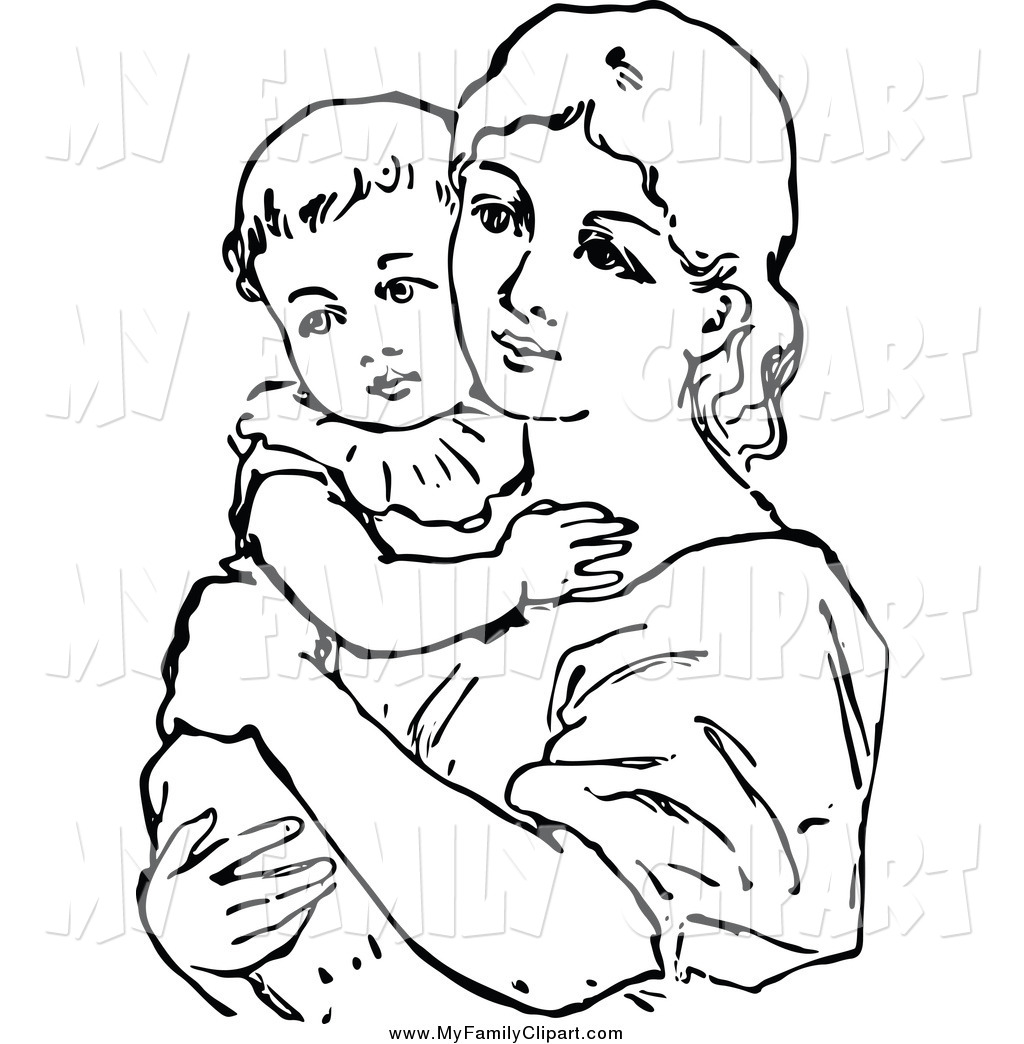 Mother Father And Baby Drawing At Getdrawings