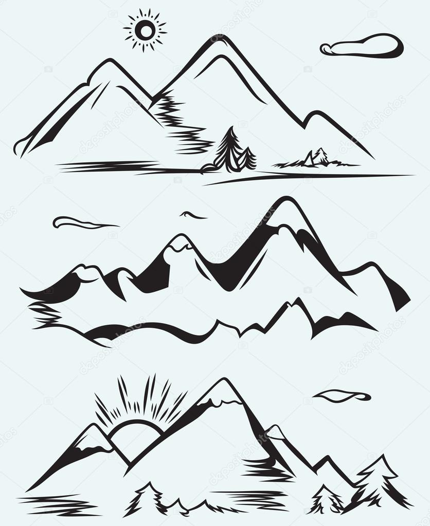 Mountain range drawing at getdrawings free for personal use mountain range drawing 26 mountain range drawing