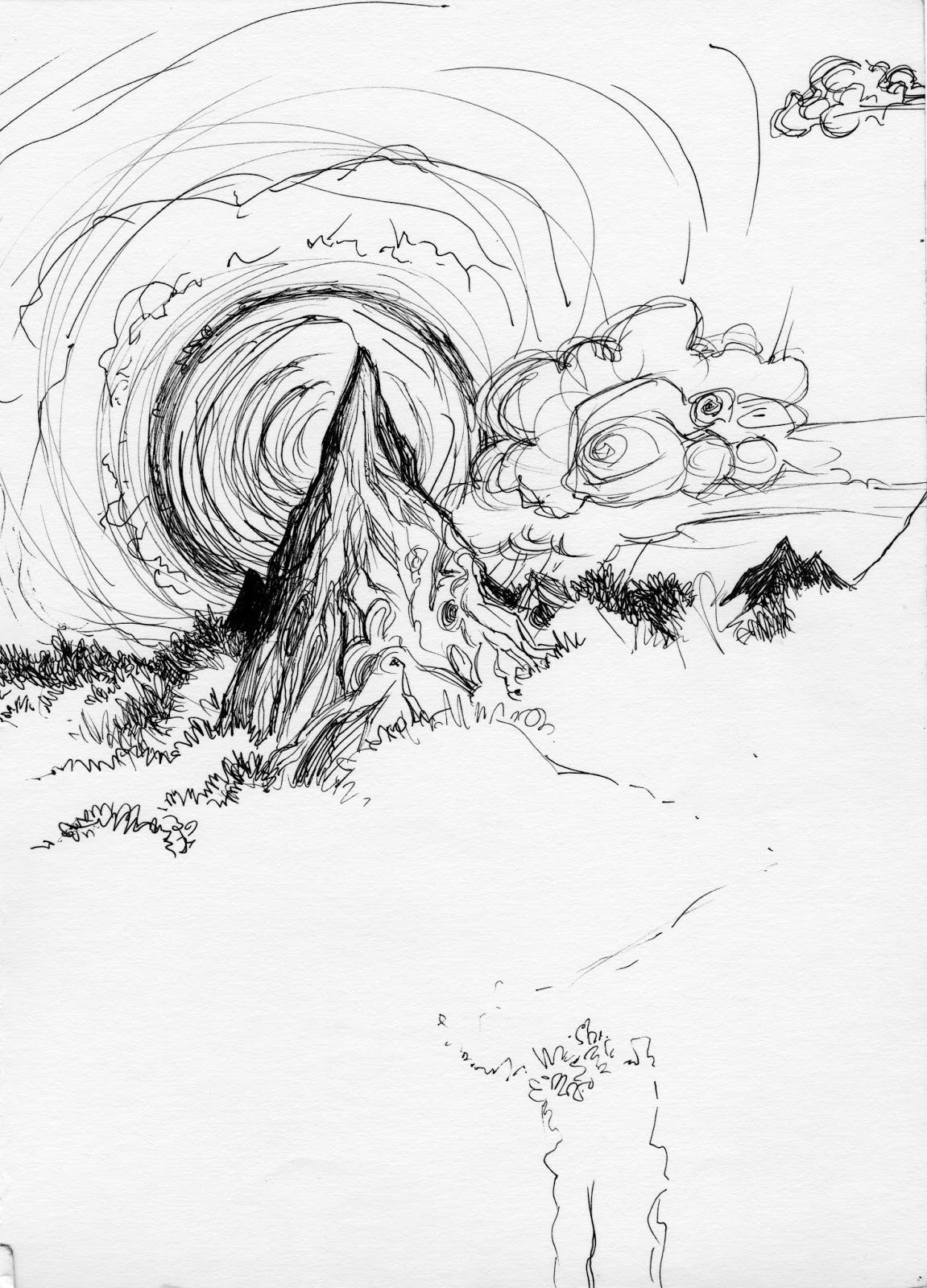 Mountain range line drawing at getdrawings free for personal mountain range line drawing 34 mountain range