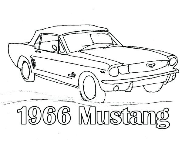 1950 Ford Mustang Fastback