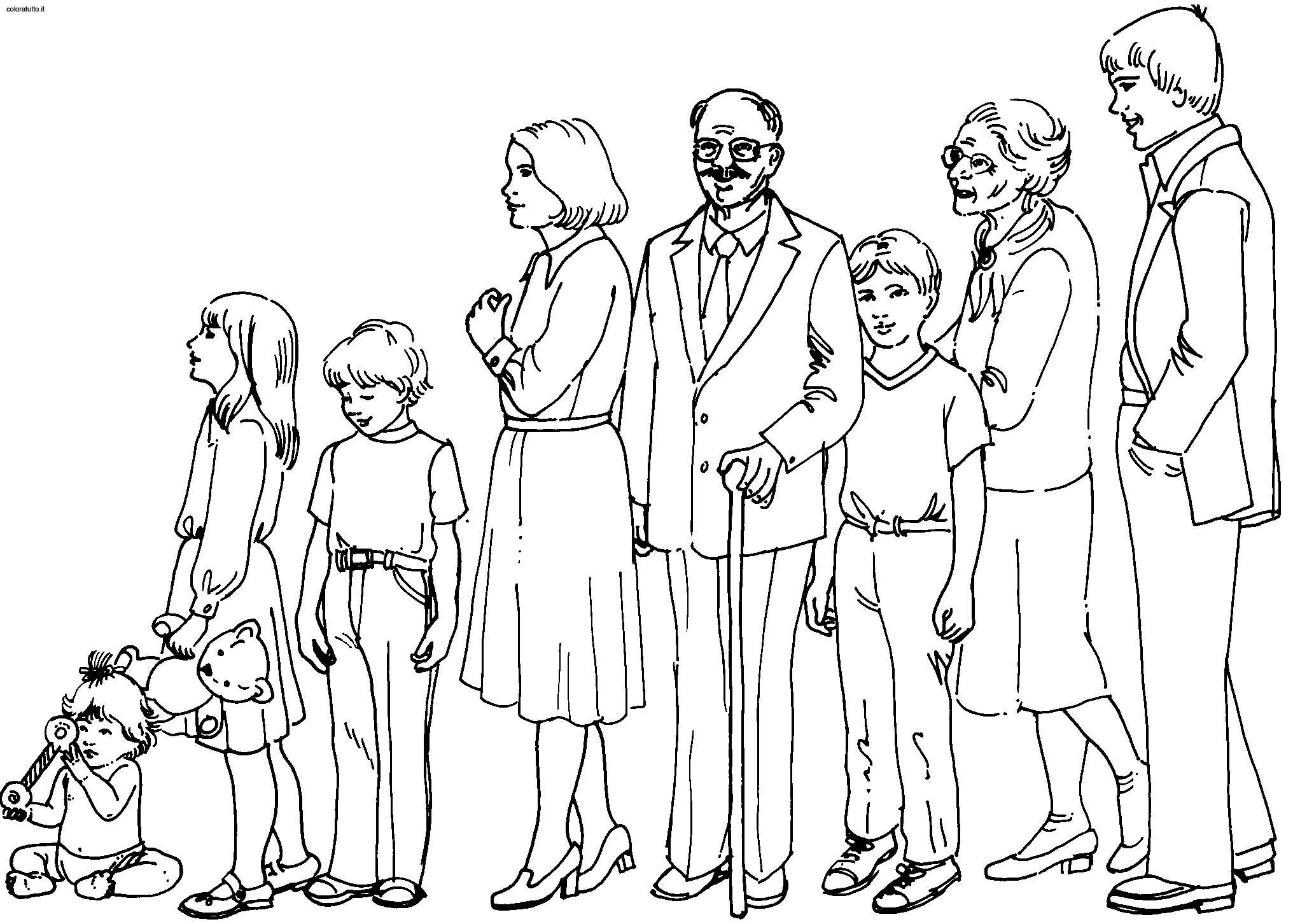 My Family Drawing At Getdrawings