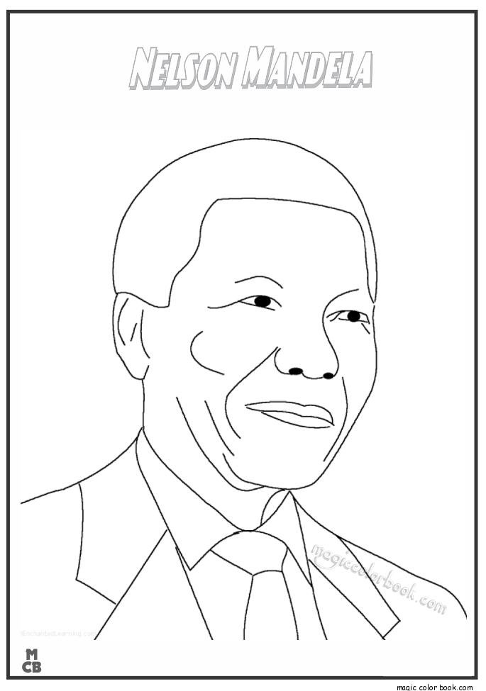 Nelson Mandela Drawing at GetDrawings | Free download