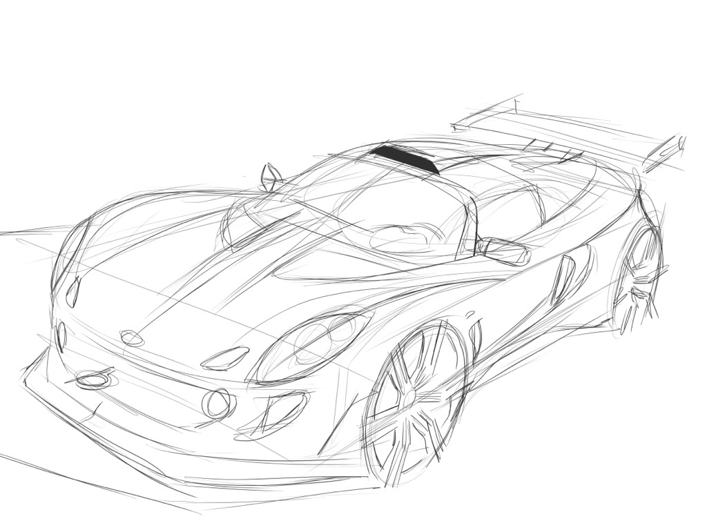 New car drawing at getdrawings free for personal use new car
