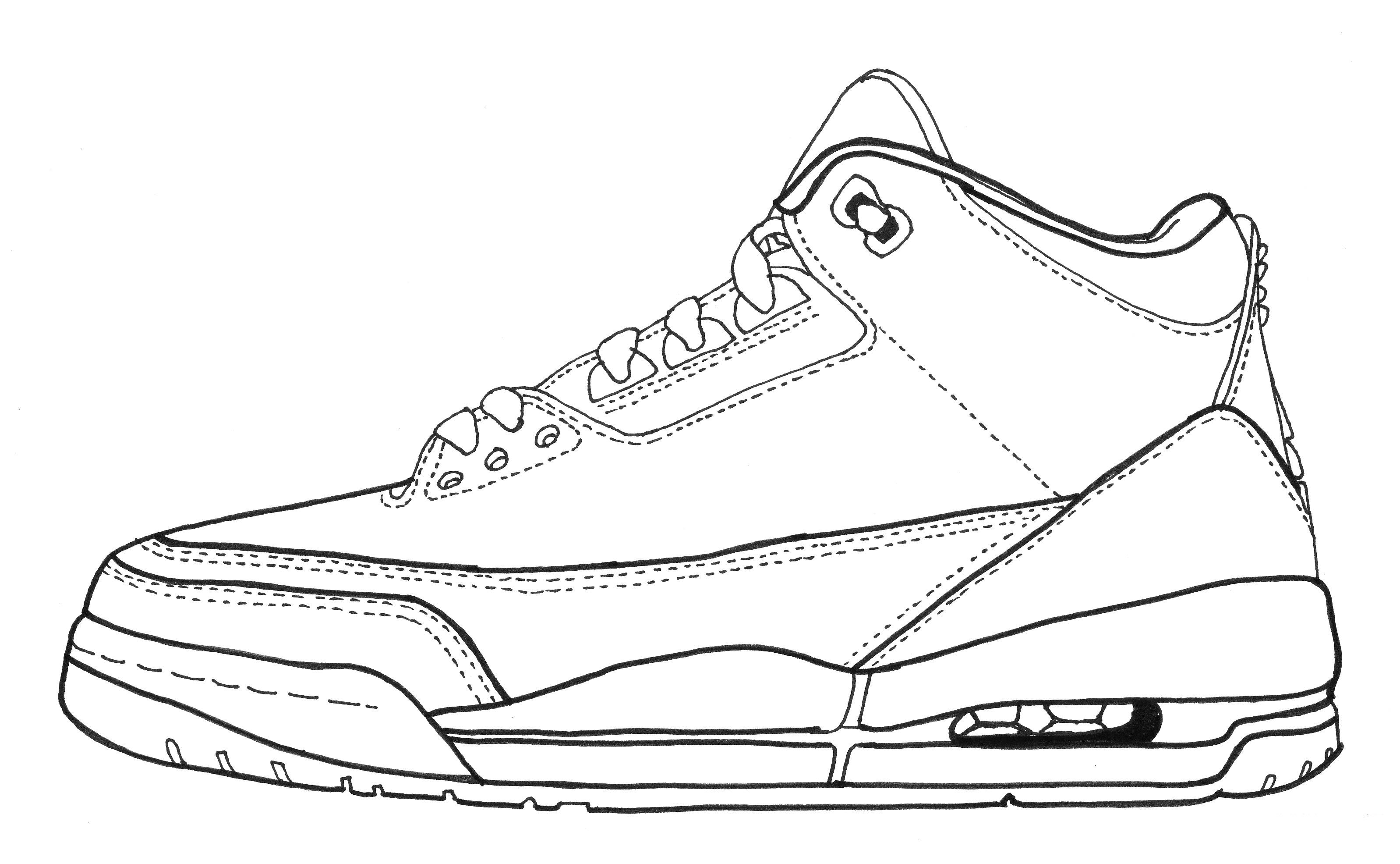 Nike Air Mag Drawing At Getdrawings