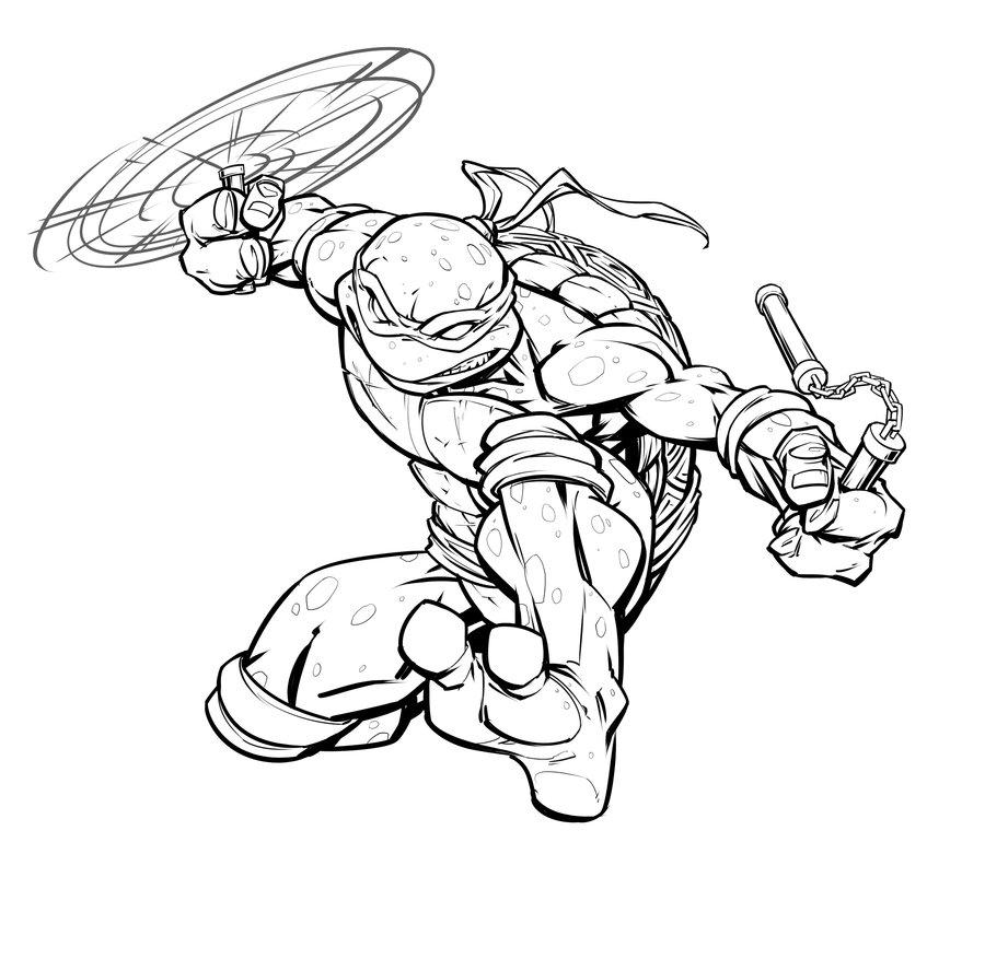 Ninja Turtles Drawing At Free For