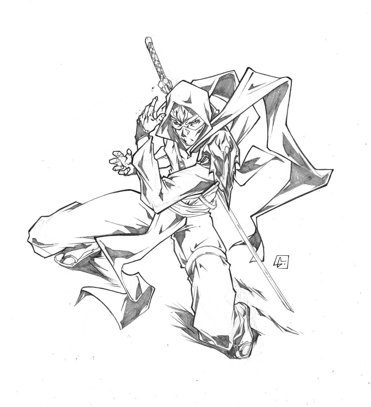 Ninjas Drawing At Getdrawings