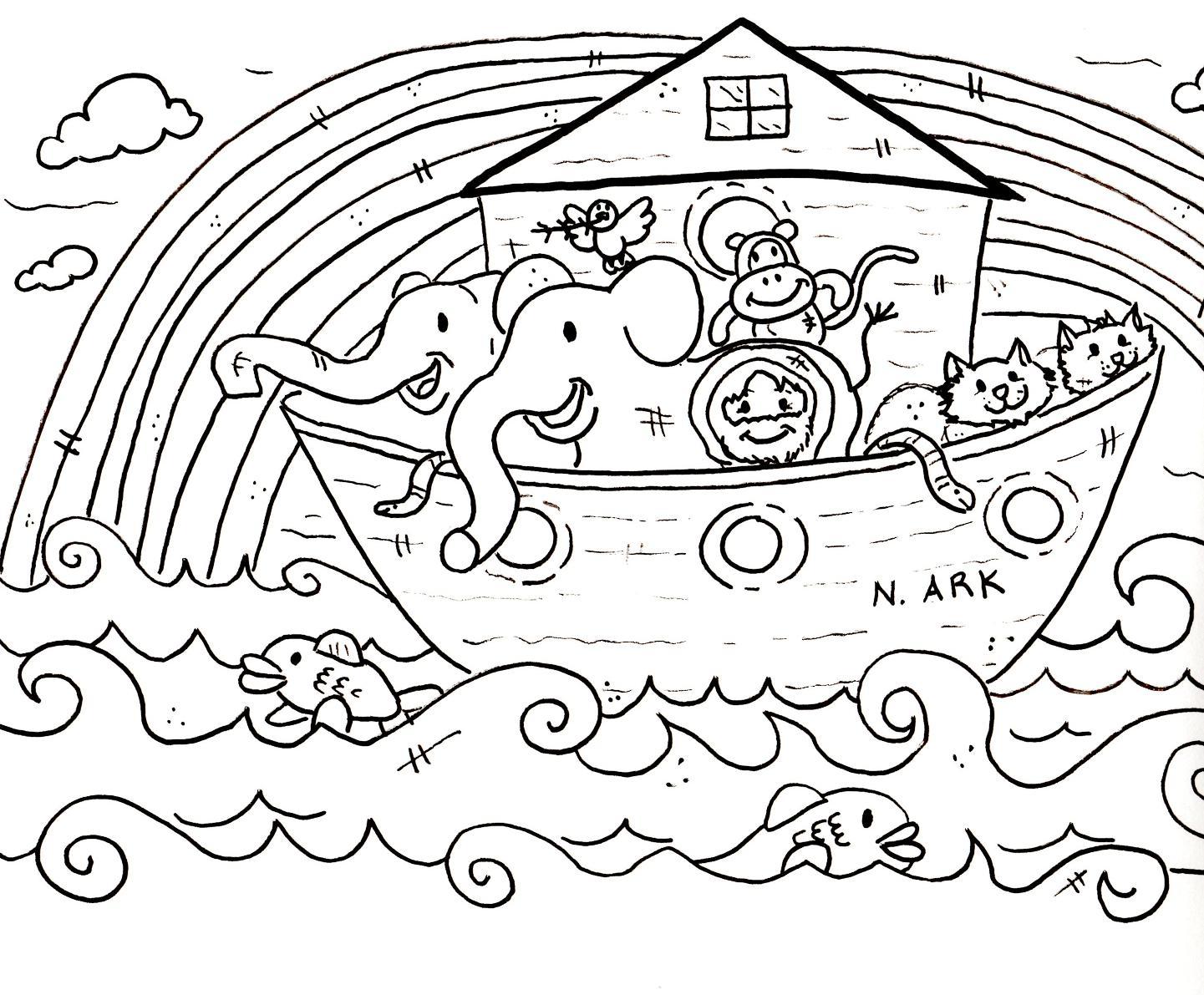 Noah Ark Drawing At Getdrawings
