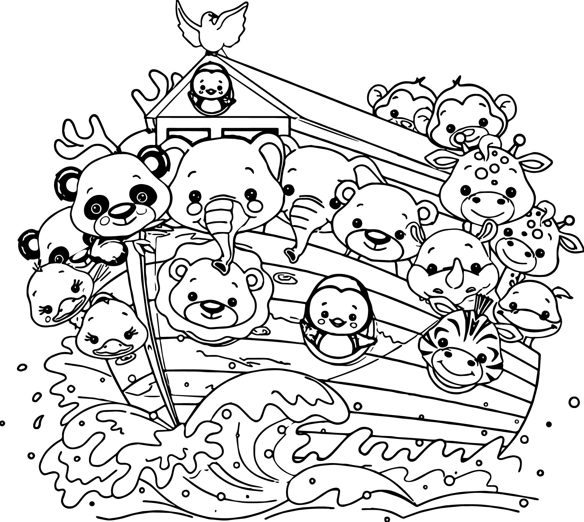 Noahs Ark Drawing At Getdrawings