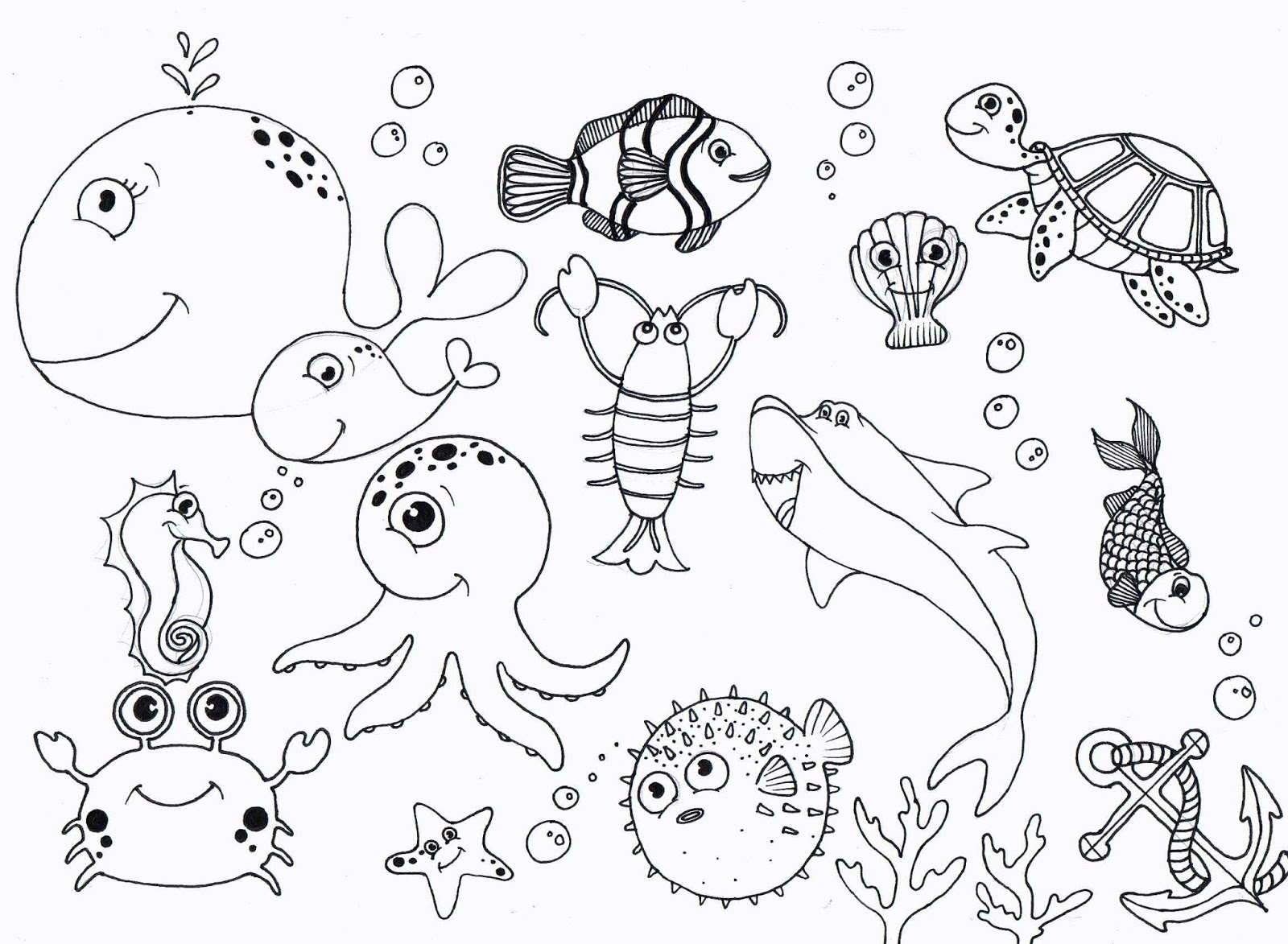 Ocean Drawing For Kids At Getdrawings