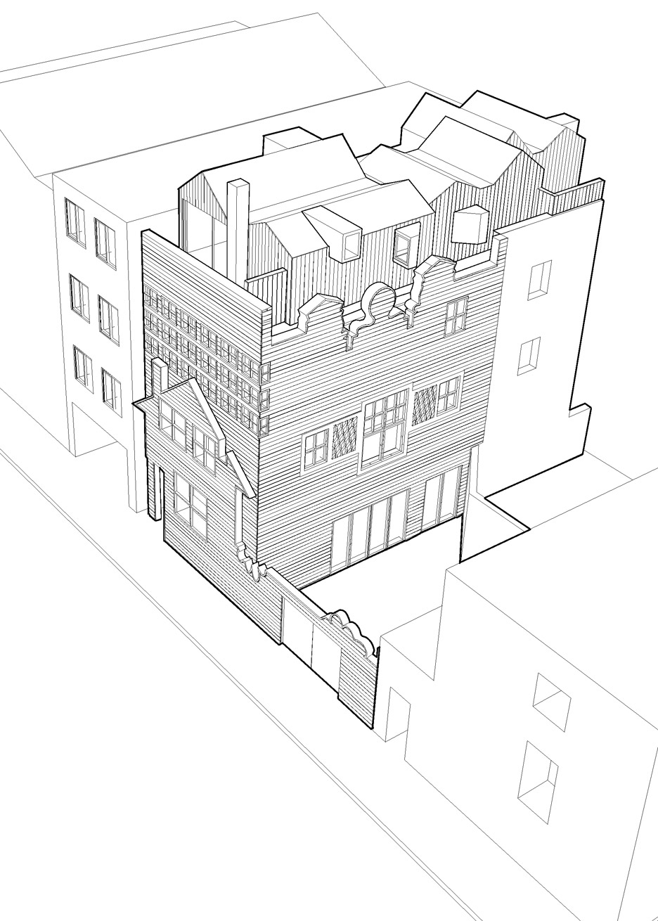 Old architecture drawing at getdrawings free for personal use