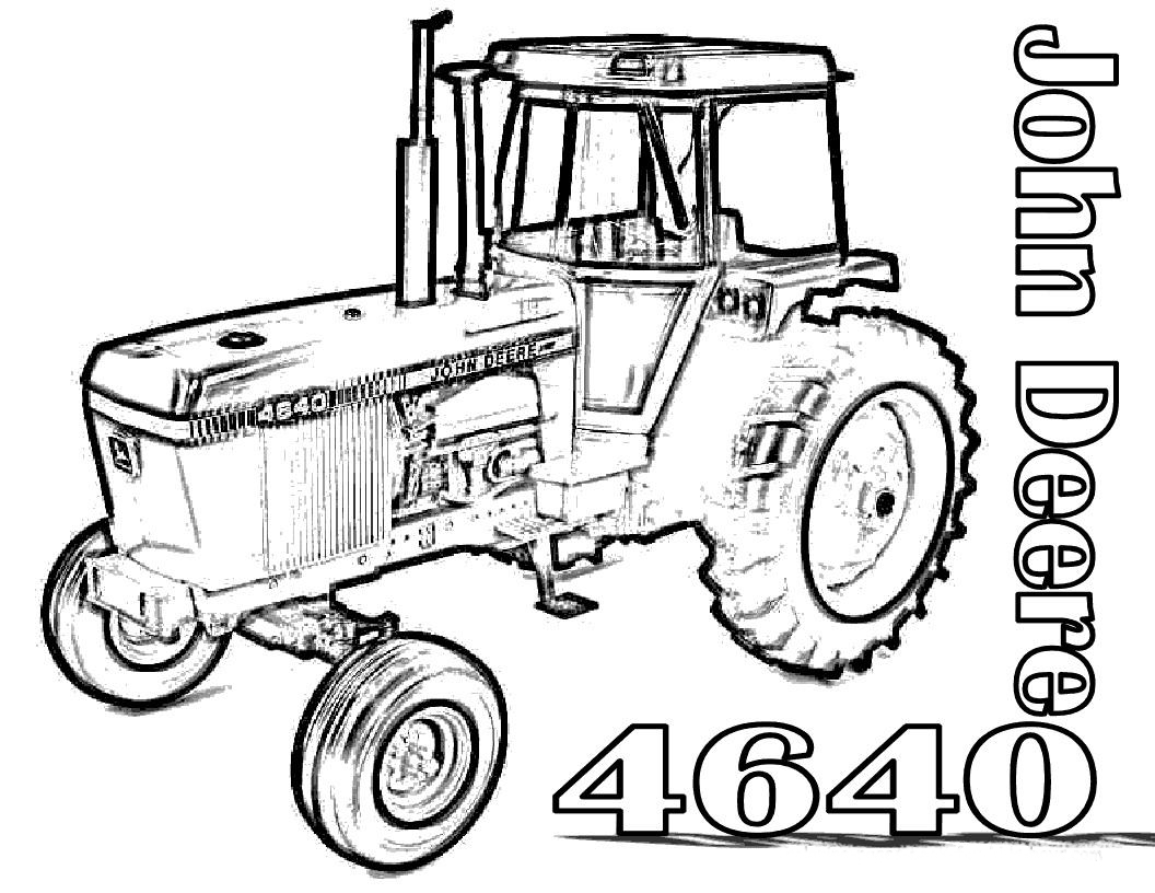 Old Tractor Drawing At Getdrawings