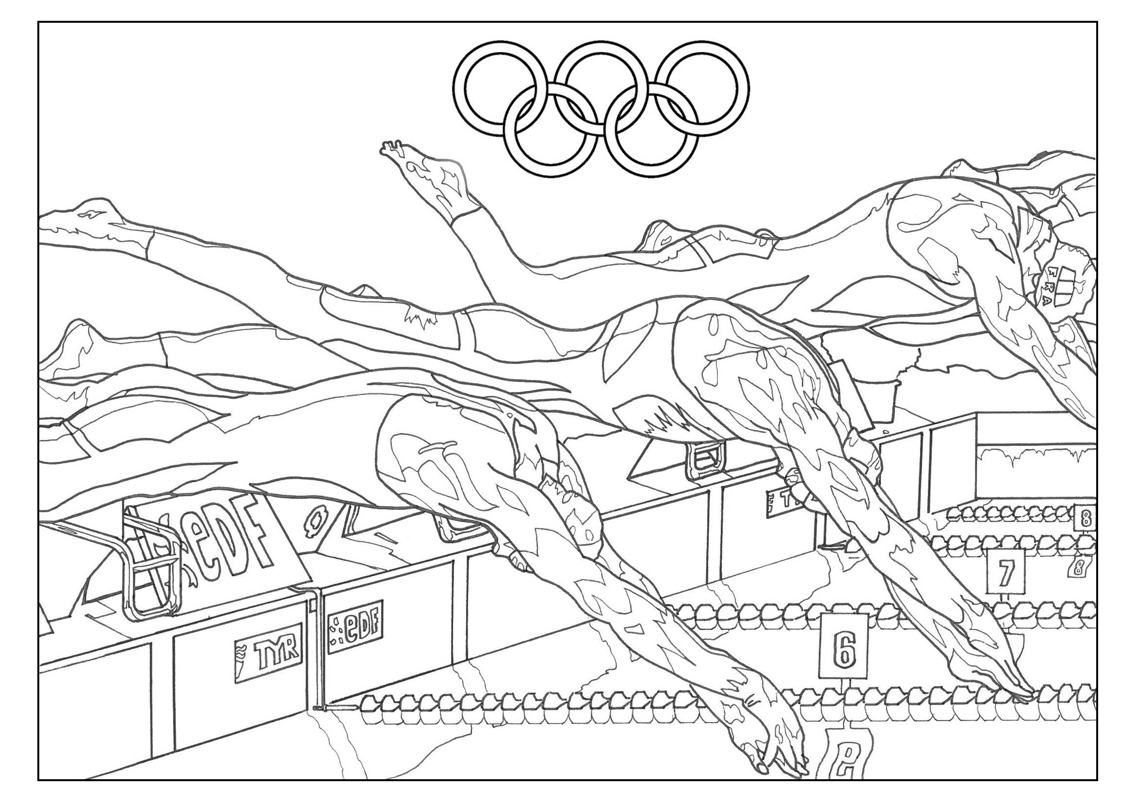 Olympic Drawing At Getdrawings