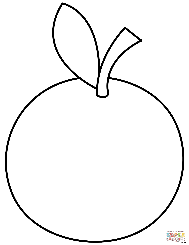 Orange Fruit Drawing At Getdrawings